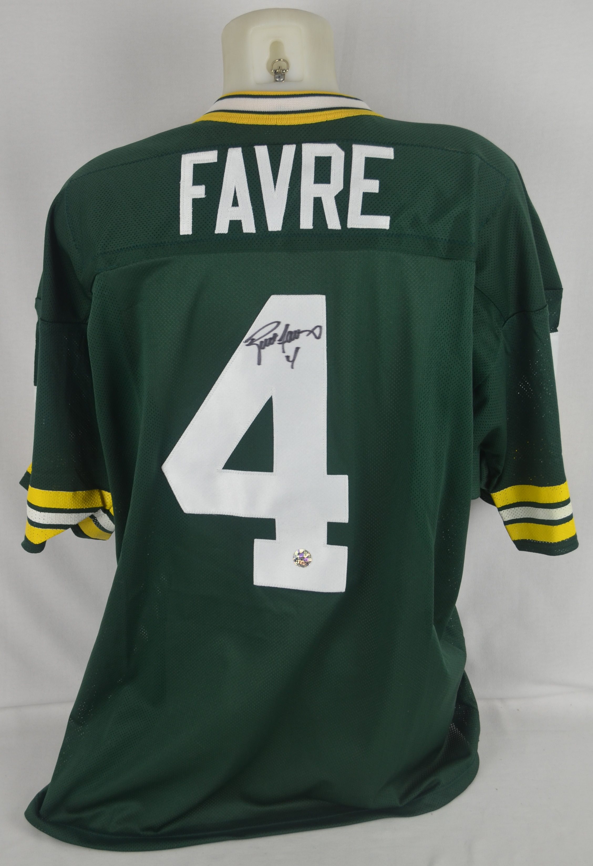 Lot Detail - Brett Favre Green Bay Packers Autographed Jersey d85f096ff