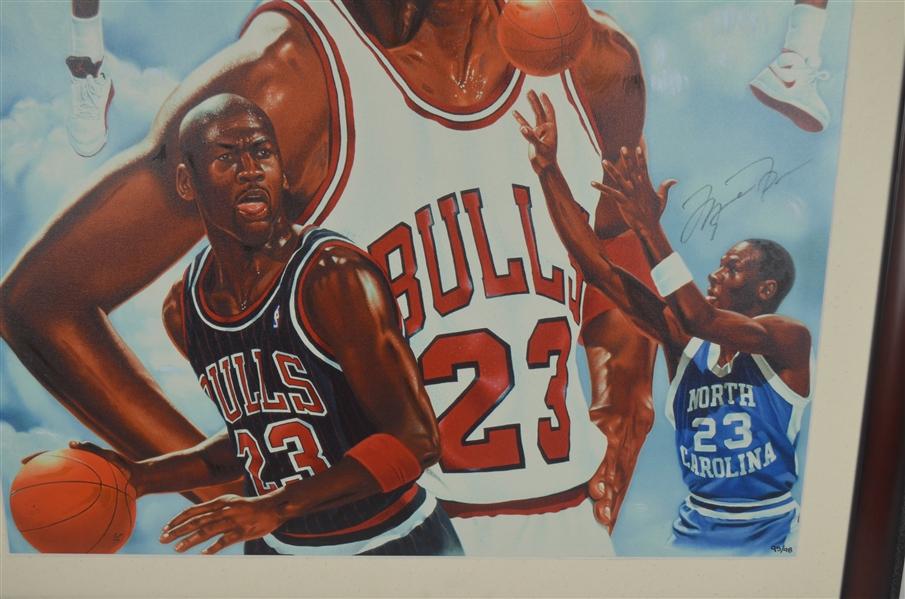 Lot Detail Michael Jordan Autographed Limited Edition