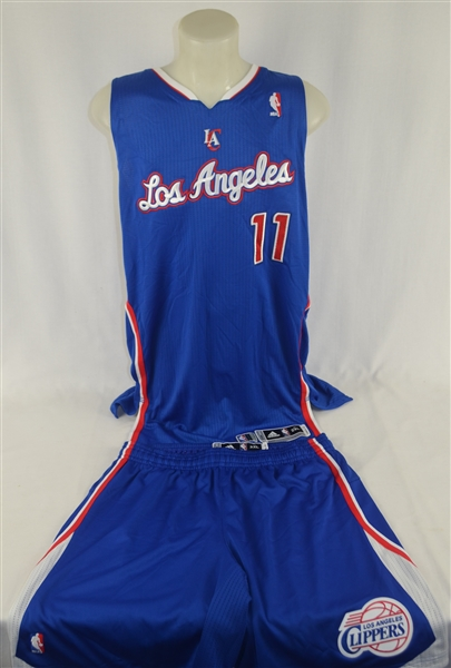 Jamal Crawford 2013-14 LA Clippers Professional Model Uniform w/Medium Use