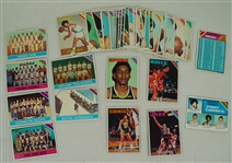 Collection of 38 NBA 1975-76 Topps Cards