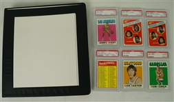 Vintage 1971 Topps Basketball Card Set 89% Complete