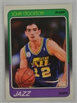 John Stockton 1988 Fleer Rookie Card