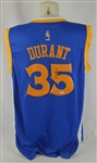 Kevin Durant Autographed Golden State Warriors Jersey