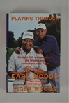 "Tiger Woods Autographed ""Playing Through"" Book"
