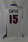 Vince Carter 2000-01 Toronto Raptors Professional Model Jersey w/Medium Use