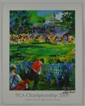 Tiger Woods 2000 PGA Championship Lithograph Signed by LeRoy Neiman