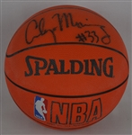 Alonzo Mourning Autographed Basketball