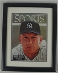 Mickey Mantle Autographed & Framed Sports Illustrated UDA