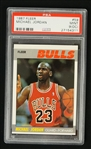 Michael Jordan 1987 Fleer Basketball #59 PSA 9 OC Mint