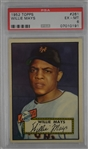 Willie Mays 1952 Topps #261 New York Giants Rookie Card PSA 6 EX-MT High End