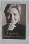 "Hillary Clinton Signed Copy of ""Living History"" Hard Cover Book"