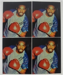 Rocky Lockridge Lot of 4 Autographed 8x10 Photo