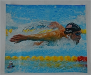 "Michael Phelps Olympic Games ""Fly"" Photo"