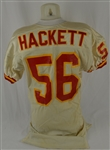 Dino Hackett 1992 KC Chiefs Professional Model Jersey w/Heavy Use