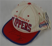 Terry Dehere Autographed LA Clippers Hat