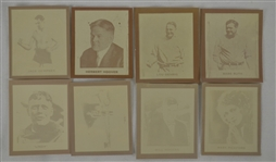 1930 Ray-O-Print Set Including Babe Ruth & Lou Gehrig