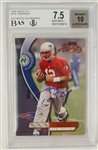 Tom Brady 2000 Playoff Absolute Autographed Rookie Card /3000 BGS 7.5 & Tri Star