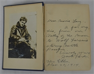 "Jack London Signed First Edition of ""The Sea Wolf"" PSA/DNA LOA"