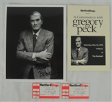 Gregory Peck Autographed Photo