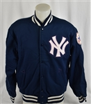Thurman Munson 1970s New York Yankees Game Used Jacket w/Provenance & Dave Miedema LOA