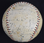 1933 American League Team Signed All-Star Baseball w/Babe Ruth & Lou Gehrig *1st Ever All-Star Game*