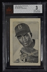 Jackie Robinson 1947 Bond Bread Rookie Card BVG 3