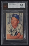 Mickey Mantle 1952 Bowman Card #101 BVG 6.5 EX-MT+