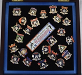 New York Yankee World Series Championship Pin Collection