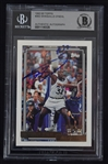 Shaquille ONeal Autographed Rookie Card Beckett Authentication