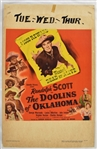 "Vintage 1949 ""The Doolins of Oklahoma"" Movie Poster"
