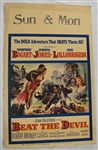"Vintage 1953 ""Beat the Devil"" Movie Poster"