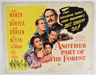 "Vintage 1948 ""Another Part of the Forest"" Movie Poster"