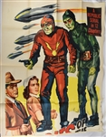 "Vintage 1952 ""Zombies of the Stratosphere"" Movie Poster"