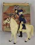 General George Washington & Horse Ajax Hartland w/Original Box