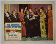 "Vintage 1960 ""The Original Three Stooges"" Movie Poster"