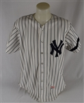 Dave Righetti 1981 New York Yankees Game Used Rookie Jersey