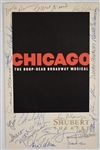"""Chicago Musical Signed Program"