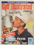 Corey Pavin Autographed Golf Illustrated Magazine