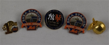 New York Mets 1964-2008 Commemorative Pins