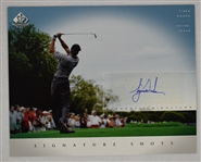 Tiger Woods Autographed 2004 Upper Deck SP Signature Shots Card