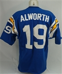 Lance Alworth c. 1960s Game Used San Diego Chargers Jersey w/Dave Miedema LOA