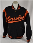 Baltimore Orioles c. 1960s Game Used Dugout Jacket w/Dave Miedema LOA