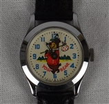 Vintage Mechanical Yogi Bear Watch