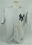 Derek Jeter 2004 New York Yankees Game Used Jersey w/Dave Miedema LOA