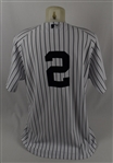 Derek Jeter 2013 New York Yankees Game Used Jersey w/Dave Miedema LOA