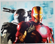 Stan Lee Autographed 16x20 Iron Man Photo