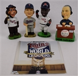 Minnesota Twins Collection w/Kirby Puckett Bobblehead