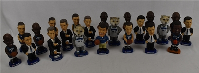 Collection of 22 Minnesota Timberwolves Bobbleheads
