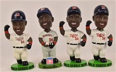 Kirby Puckett Lot of 4 Bobbleheads