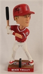 Mike Trout 2016 Autographed Bobblehead PSA/DNA